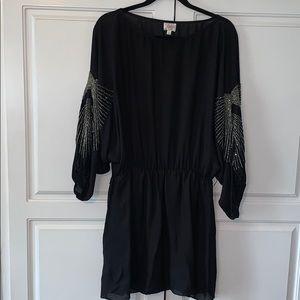 Parker beaded blousy dress